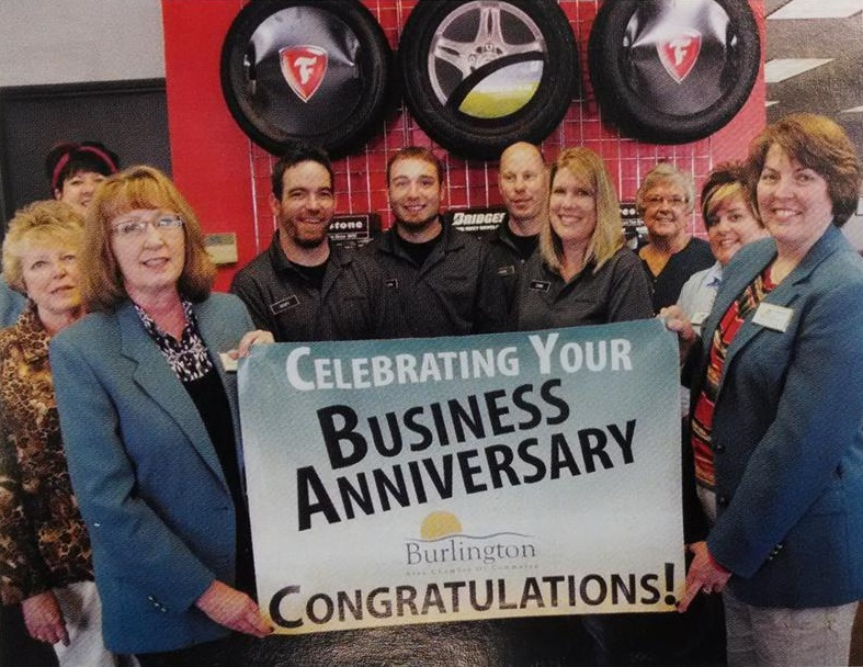 Performance Tire Staff Celebrates 25 Years